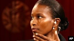Somali-born Ayaan Hirsi Ali, pictured in 2006, was one of three women awarded the Lantos Human Rights Prize on Thursday in Washington.