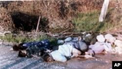 Nạn nhân người Kurd của vụ tấn công bằng vũ khí hóa học ở thị trấn Halabja năm 1988.