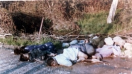 Chemical war victims of Iraqi gas attack on Kurds in the town of Halabja. (1988 file photo)