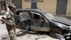 На месте происшествия в Могадишо