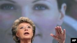 Evropska komesarka za pravdu Vivian Reding