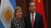 阿根廷外長到訪中國會見中國外長王毅