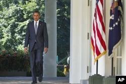 Le président Barack Obama (Maison Blanche, 31 août 2011)