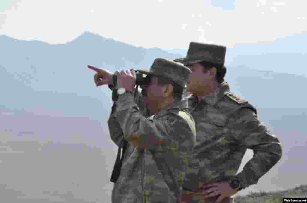 Naxçıvan Muxtar Respublikası ərazisində genişmiqyaslı hərbi təlimlər başa çatıb