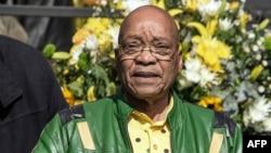 L'ex-président sud-africain Jacob Zuma à Johannesburg, le 31 juillet 2016.