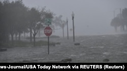 USA, Florida, Pensacola, Flooding due to Hurricane SallyFlooding due to Hurricane Sally