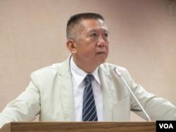 台灣執政黨國民黨立委楊應雄(美國之音張永泰拍攝)