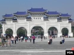 自由廣場(中正紀念堂)-台北 (美國之音許波拍攝)