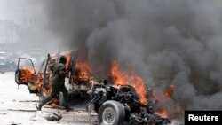 Bomb Rocks Mogadishu