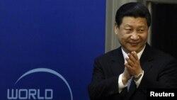 지난 7월 7일 중국 베이징에서 '세계 평화 포럼'에 참석했던 시진핑 중국 국가 부주석. (자료 사진)