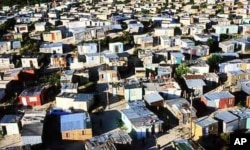 The ANC government says it has provided water, electricity and housing to many millions of South Africans in recent years … Yet many citizens still live in dire poverty in shacks