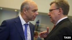 Министр финансов России Антон Силуанов (слева) заявил, что повышение рейтинга Moody's является решением «справедливым, хотя и несколько запоздалым»