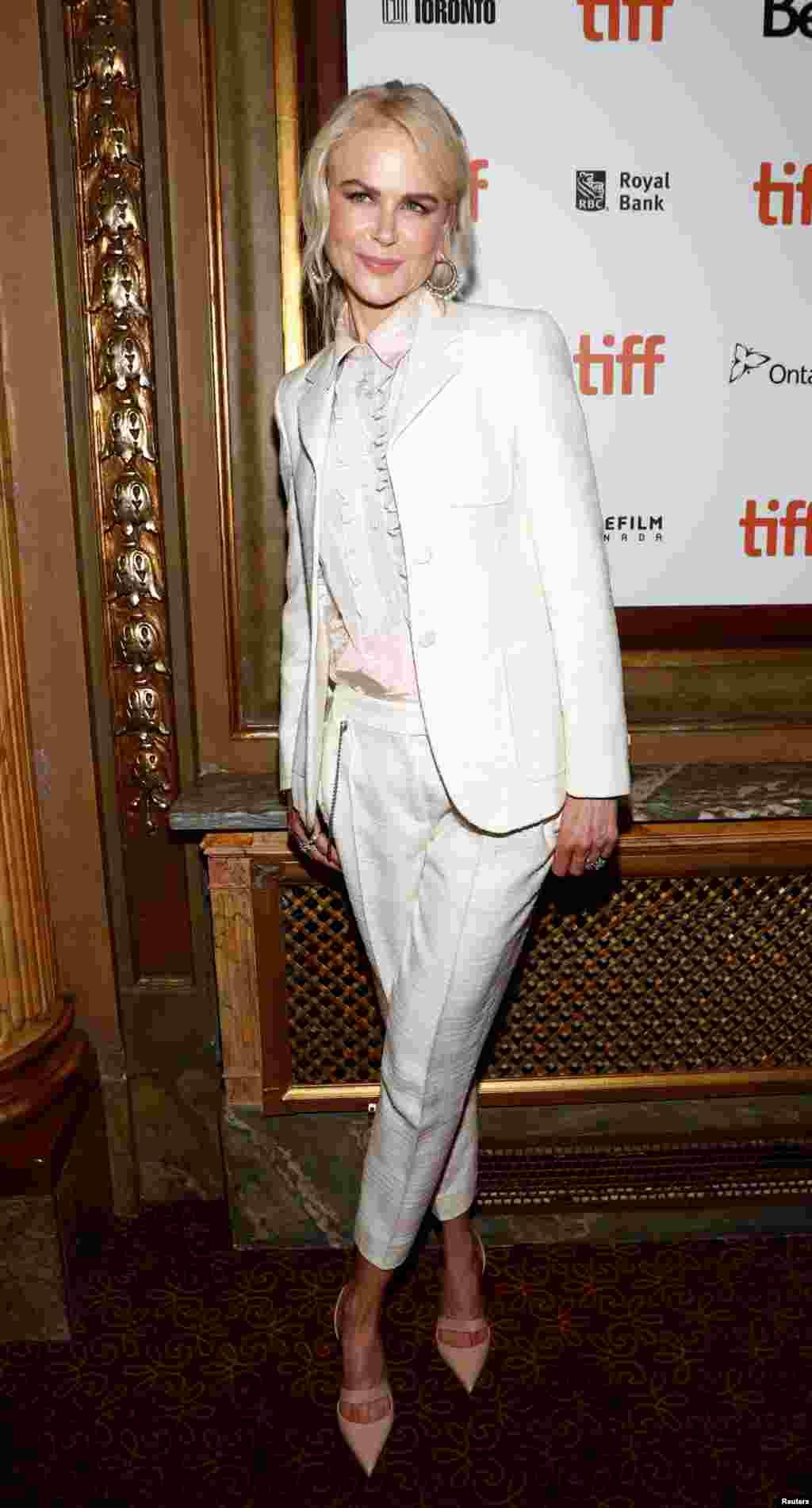 حضور نیکول کیدمن، بازیگر هالیوود در جشنواره بین المللی فیلم تورنتو