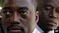 Shugaba Joseph Kabila, na Jamhuriyar Demokuradiyyar Kwango