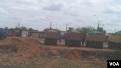 Camionistas no Zango, Luanda, Angola (Foto de Arquivo)