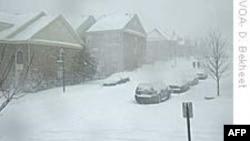 Bão tuyết phủ trắng vùng đông bắc Hoa Kỳ
