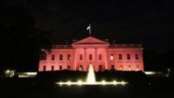 کاخ سفيد برای آگاه سازی در مورد سرطان پستان به رنگ صورتی درآمد