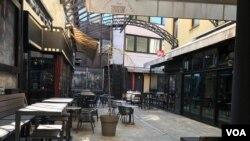 Zatvoreni kafići u banjalučkoj Gospodskoj ulici