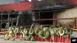 賭場縱火案導致52人喪生。.