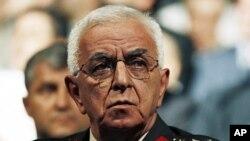 土耳其武装部队负责人厄舍克·科沙内尔将军资料照