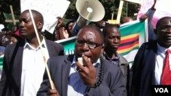 Une manifestation au Zimbabwe (Archives)