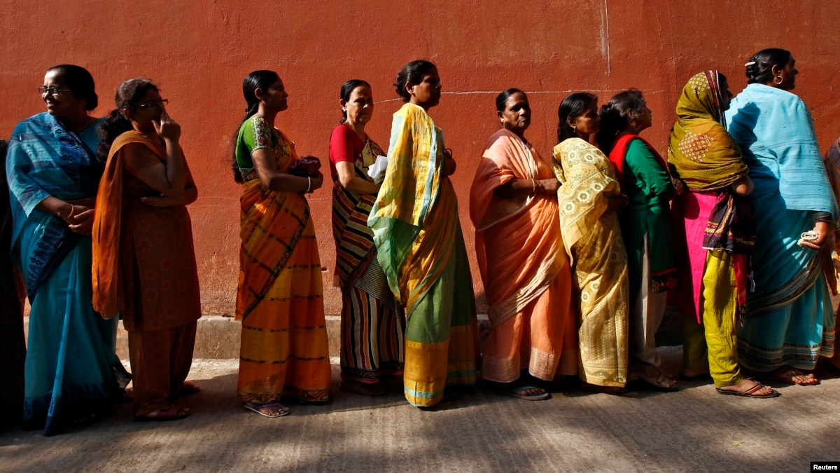 Image result for women voting india
