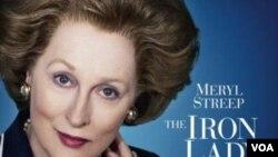 Meryl Streep memerankan PM Inggris Margaret Thatcher dalam 'The Iron Lady' menjadi favorit memenangkan Oscar untuk aktris terbaik.
