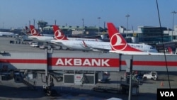 资料照:伊斯坦布尔国际机场一角。