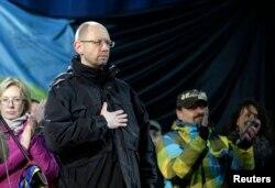 乌克兰反对派领袖亚采纽克
