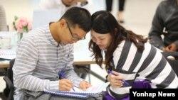 강원 철원군 중부전선에 있는 육군 3사단이 장교와 부사관 부부를 대상으로 부부교실을 열어 행복한 가족문화를 만들기에 힘쓰고 있다. (자료사진)