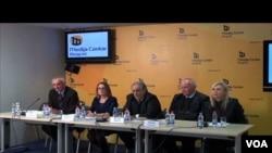 Konferencija za novinare Saveta za borbu protiv korupcije, Beograd, 24. decembar 2015.