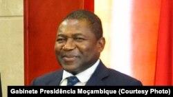 Presidente Nyusi com o enviado especial do Primeiro-Ministro