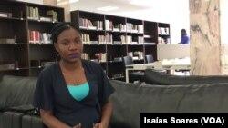 """Emma Massunga, directora da Biblioteca Provincial """"Njinga Mande"""""""