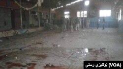 На месте теракта в спортивном клубе в Кабуле