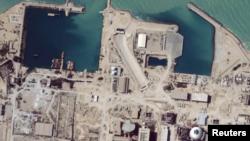 تصویر گرفته شده از مرکز تسهیلات هسته یی ایران توسط ستلایت