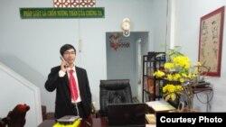 Luật sư Nguyễn Quốc Đạt.