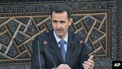 叙利亚总统阿萨德3月30日在议会发表全国讲话