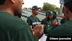 امریکہ کا دورہ کرنے والی پاکستانی ٹیم کے ارکان