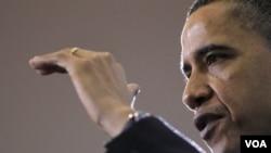 El presidente Obama lamentó que el proyecto de esta ley esté estancado en el Congreso.