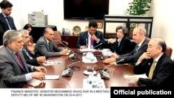 اسحاق ڈار کی عالمی بینک کے وفد سے ملاقات