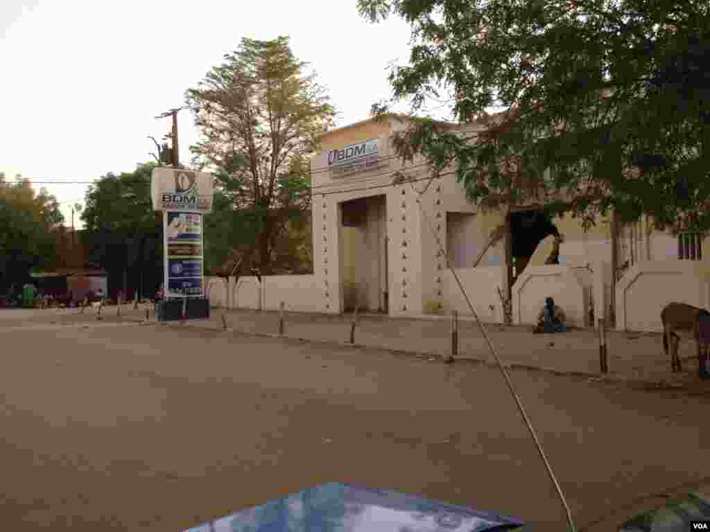 BDM détruite (les banques ont été dévalisées et/ou détruites après la chute du Nord-Mali)