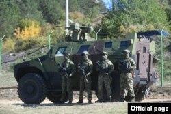 Pripadnici Vojske Srbije u blizini administrativne linije sa Kosovom, Srbija, 26. septembra 2021. (Foto: Ministarstvo odbrane Srbije)
