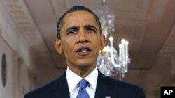 Prezida Obama Mw'ijambo ryiwe kuri Afghanistani