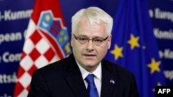Hrvatski predsednik Ivo Josipović (arhivski snimak).