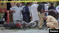 کراچی دھماکا