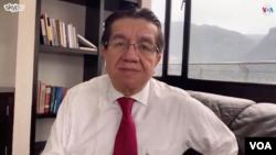 Fernando Ruiz, Ministro de Salud de Colombia, encargado de la implementación progresiva de las medidas contra el coronavirus en su país.