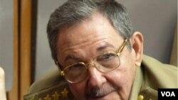 Presiden Kuba Raul Castro. (foto: dok)