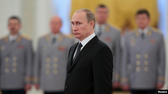 Russia's President Vladimir Putin at the Kremlin in Moscow, Nov. 19, 2013