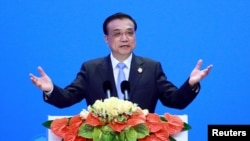 中国总理李克强 (资料图片)