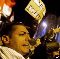 Etats-Unis : « la petit Egypte », à New York, soutient le mouvement pro-démocratie en Egypte